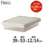 収納ケース Fits フィッツ フィッツケース スリムボックス53 フタ付き ( 収納 隙間収納 すき間収納 すきま収納 )