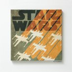 スターウォーズ スミノエ STAR WARS ファブリックパネル X-WING ( スターウォーズシリーズ インテリア 壁掛け )