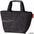 ランチバッグ ソフトランチバッグ ミッキーマウス 洗えるインナーバッグ付 2重タイプ ( トートバッグ 保冷バッグ キャラクター )