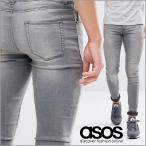 エイソス スキニー ジーンズ デニム エクストリーム スーパースキニー メンズ ASOS Extreme Super Skinny Jeans Light Wash Grey