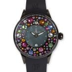 カプリウォッチ Capri watch ミッレフォーリ 腕時計 ウォッチ ブラック Art. 5274 レディース メンズ ユニセックス 女性 男性 男女兼用