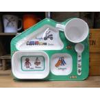 ラシェーズロング ベビー食器 出産祝い ロボ メラミン食器