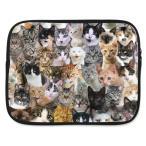 ショッピングノートパソコン 猫柄 10インチ ノートパソコンケース ノートPCケース タブレットケース 送料無料