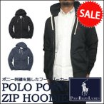 ラルフローレン パーカー Polo Ralph Lauren ポニー 刺繍 ウォッシュ加工 フルジップ フード パーカー メンズ