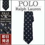 ラルフローレン ネクタイ Polo Ralph Lauren ネイビー ロブスター刺繍シルク ネクタイ メンズ