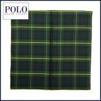 ラルフローレン  マフラー Polo Ralph Lauren シルク タータンチェック スカーフ ハンカチ メンズ