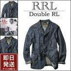 RRL ジャケット ダブルアールエル doubleRL RRL インディゴ 藍染め コットン ヘンプ 麻 デニム ジャケット