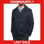 デニム&サプライ コート DENIM&SUPPLY by ラルフローレン クラシック ウール Pコート メンズ