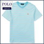 ラルフローレン 半袖Tシャツ Polo Ralph Lauren  ポニー 刺繍 ボーダー Vネック 半袖 Tシャツ メンズ レディース にも対応