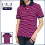 ラルフローレン ポロシャツ Polo Ralph Lauren ポニー 刺繍 ストライプ 半袖 ポロシャツ メンズ・レディース対応