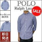 ラルフローレン  長袖シャツ Polo Ralph Lauren ポニー刺繍 タッタソール チェック 長袖 シャツ