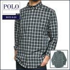 ラルフローレン  長袖シャツ Polo Ralph Lauren ポニー刺繍 チェック コットン 長袖 ボタンダウン シャツ