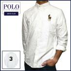 ラルフローレン 長袖シャツ Polo Ralph Lauren ビッグポニー 刺繍 バックナンバー オックスフォード 長袖 ボタンダウン シャツ