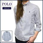 ショッピングラルフローレン ラルフローレン 長袖シャツ Polo Ralph Lauren ポニー刺繍 チェック 長袖 ボタンダウン シャツ