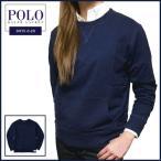ラルフローレン  スウェット Polo Ralph Lauren スラブ コットン WASH加工 ロゴパッチ スウェット 長袖 シャツ
