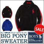 ショッピングショール ラルフローレン  セーター Polo Ralph Lauren ビッグポニー 刺繍 ショールカラー ニット セーター メンズ・レディース対応