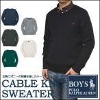 ショッピングラルフ ラルフローレン  セーター Polo Ralph Lauren ケーブルニット編み クルーネック ニット セーター メンズ・レディース対応