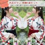 大正ロマン 袴 和服 着物 ドレス ロング 花柄 ロリータ ロリィタ