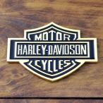 3Dステッカー 「ハーレーダビッドソン B&S ロゴ」(ゴールド) /HARLEY-DAVIDSON/