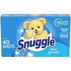 Snuggle スナッグル シート柔軟剤(ブルースパークル)40枚