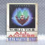 メタルサイン ジャーニー Journey Backstage Pass #98589 ロック柄 アメリカ直輸入 ブリキ看板