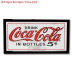 コカコーラ デザイン小物 赤 H25cm W48cm