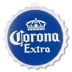 コロナエクストラ 王冠型サイン  212536 Corona Extra ブリキ製 立体看板 直径40.2 厚さ4.3cm  並行輸入品