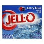KRAFT Jell-o クラフト ジェロ ゼラチンミックス(粉ゼラチン) ベリーブルー 85g