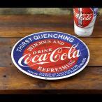 コカコーラ メラミンプレート 直径22.7cm< アメリカーナ> #92406 /COCA-COLA BRAND/お皿・食器/アメリカン雑貨/