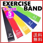 エクササイズバンド ループバンド トレーニング チューブ 強度別5本セット 筋トレ ダイエット