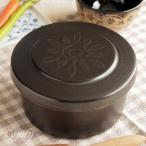 おひつ 陶器 ご飯ジャー 保温保湿 ブラックL キッチン雑貨 ナチュラルカントリー 北欧