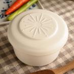 おひつ 陶器 ご飯ジャー 保温保湿 ホワイトS キッチン雑貨 ナチュラルカントリー 北欧