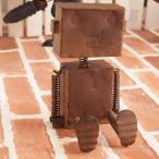 オブジェ 置物 インテリア雑貨 ブリキ ロボット アンティーク雑貨