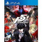 新品 PS4ソフト ペルソナ5(通常版)