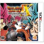 3DS 新品 ドラゴンボールヒーローズ アルティメットミッションX 【初回限定特典】SR級バトルカード×4枚
