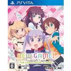 新品 Vita NEW GAME! -THE CHALLENGE STAGE!-(通常版)【COMG!オリジナルクオカード付】
