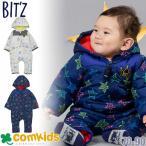 ショッピングBit\'z bit'z(ビッツ)星総柄ベビージャンプスーツ(ビッツ ベビー服)(ベビーアウター/防寒カバーオール/ベビー服 男の子 新生児)