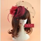 Yahoo!百貨ストア送料無料  黒色 フェザー フォーマル ヘッドドレス ブラック  ブライダル 結婚式 髪飾り メッシュ 葬式  カクテル帽  シンプル