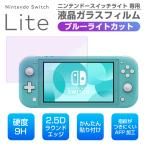 Nintendo Switch Lite ブルーライトカット ガラスフィルム ニンテンドースイッチライト フィルム 任天堂 switch lite 保護フィルム 強化ガラス