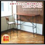 インダストリアル・ヴィンテージ風 バーカウンターテーブル スパイス BRESCIA BAR COUNTER ブレシア 木製 アイアン