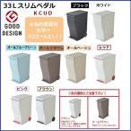 ゴミ箱 I'mD アイムディ クード 日本製 ダストボックス 蓋付き 縦型 フタ付き 分別 45L対応 45リットル袋可 Kcud スリムペダル 30 ごみばこ おしゃれ KCUD