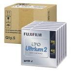 富士フイルム LTO Ultrium2データカートリッジ5巻パック LTO FB UL-2 200G JX5 目安在庫=△