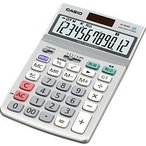 カシオ計算機(CASIO) カシオ 電卓 12桁 ジャストタイプ グリーン購入法適合 JF-120GT-N メーカー在庫品[メール便対象商品]