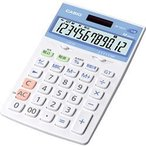 カシオ計算機(CASIO) カシオ 電卓 12桁 ジャストタイプ 抗菌電卓 JW-122CL-N メーカー在庫品[メール便対象商品]