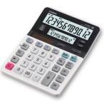 カシオ計算機(CASIO) カシオ 電卓 12桁 ツイン液晶 ブラック・ホワイト DV-220W-N メーカー在庫品
