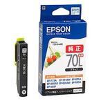 EPSON (エプソン) ICBK70L カラリオプリンター用 インクカートリッジ(ブラック増量) 目安在庫=△[メール便対象商品]