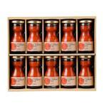 ギフト ノースファームストック ミニトマトジュース セット 80ml×10 のし プレゼント メッセージカード お祝い 内祝い 引き出物 結婚祝い 誕生日