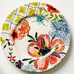 アンソロポロジー ブレッドプレート  花柄 ケーキプレート Anthropologie サラダプレート サイドプレート Sissinghurst Castle