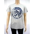 DIESEL ディーゼル メンズ 半袖 Tシャツ 00SPJF 0091B 912 グレー