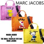 マークジェイコブス 2WAYバッグ トートバッグ M0016238 MARC JACOBS MAGDA ARCHER X THE SMALL TRAVELER TOTE BAG MARC JACOBS